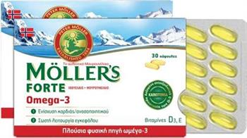 Moller`s Forte Omega-3 30 κάψουλες