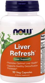 Now Foods Liver Refresh 90 φυτικές κάψουλες