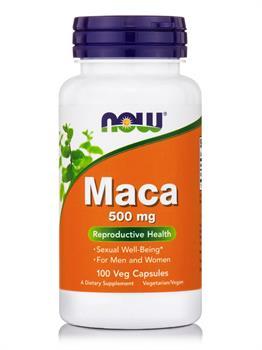 Now Foods Maca 500mg 100 κάψουλες