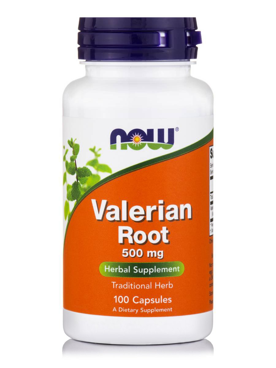 Now Foods Valerian Root 500mg 100 κάψουλες