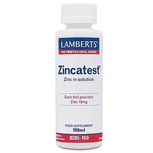 Lamberts Zincatest Διάλυμα Θειικού Ψευδαργύρου 100ml