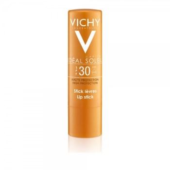 Vichy Ideal Soleil Lip Stick SPF30, Αντηλιακό Στικ Χειλιών 4.7ml