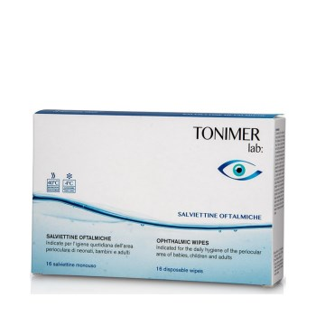 Tonimer ophtalmic wipes
