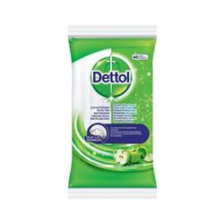 Dettol Surface Wipes Green Apple 40 wipes