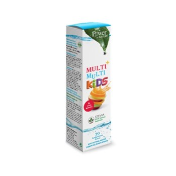 Power Health Kids Multi+Multi Stevia 20 eff.tabs αναβράζοντα δισκία