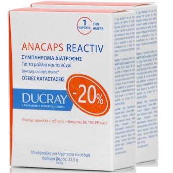 Ducray Anacaps Reactiv 2X30caps PR(-20%)