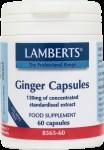 Lamberts Ginger 120mg 60 caps