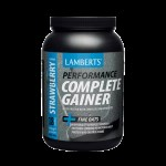Lamberts Performance Complete Gainer Whey Protein Fine Oats, 1816g-γεύση Φράουλα