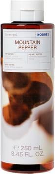 Korres Showergel Mountain Pepper 250ml