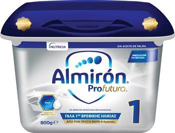 Nutricia Almiron Profutura 1 Γάλα 1ης Βρεφικής Ηλικίας 800gr