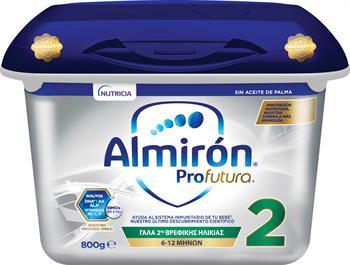 Nutricia Almiron Profutura 2 Γάλα 2ης Βρεφικής Ηλικίας 800gr