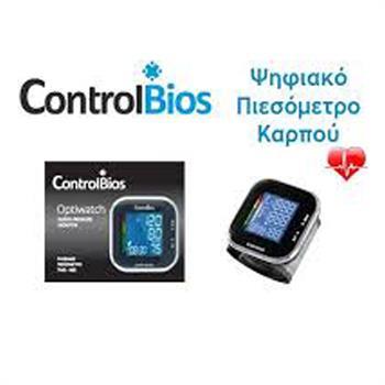 Control Bios Ψηφιακό Πιεσόμετρο Καρπού TMB-988-S 1τμχ