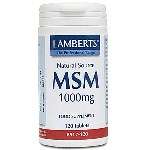 Lamberts MSM 1000mg 120 Tablets