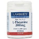 Lamberts L-Theanine 200mg Θειανίνη 60 Tablets