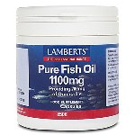 Lamberts Pure Fish Oil 1100mg, 120 caps