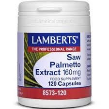 Lamberts Saw Palmetto Extract 160mg, 120caps