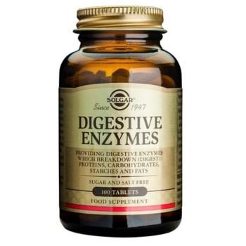 Solgar Digestive Enzymes Πεπτικά ένζυμα 100tabs