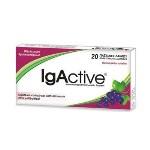 IgActive Παστίλιες Λαιμού Φραγκοστάφυλο Extra Strength Sugar Free 20 Τεμάχια