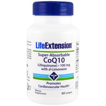 Life Extension Super-Absorbable CoQ10 100mg 60 softgels