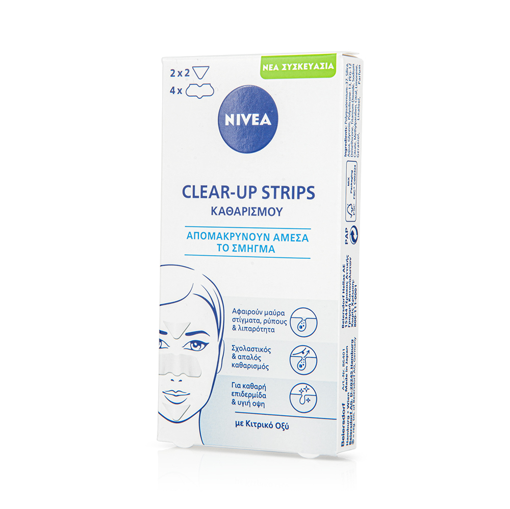 Nivea Daily Essentials Refining Clear-Up Strips 6τμχ
