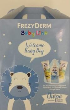 Frezyderm PROMO Για Αγόρι Baby Shampoo Βρεφικό Σαμπουάν 300ml - Baby Cream Κρέμα Για Την Αλλαγή Πάνας 2x175ml - ΔΩΡΟ Κουβέρτα Αγκαλιάς