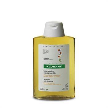 Klorane Shampoo Camomille  Σαμπουάν με Χαμομήλι 200ml