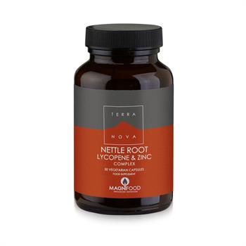 Terranova Prostate Support Nettle Root Lycopene & Zinc Complex 50 Caps