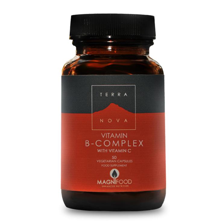 TerraNova Vitamin B-Complex With Vitamin C 50 Κάψουλες