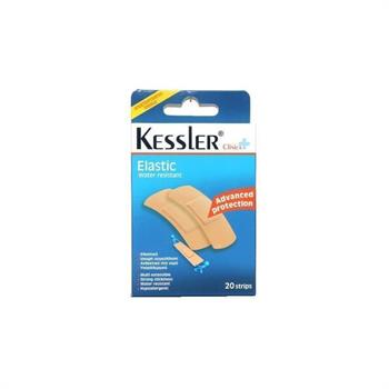 Kessler Ελαστικά Αυτοκόλλητα Επιθέματα Πληγών 20τεμ.