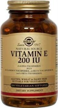 Solgar Vitamin E 200IU 50 caps