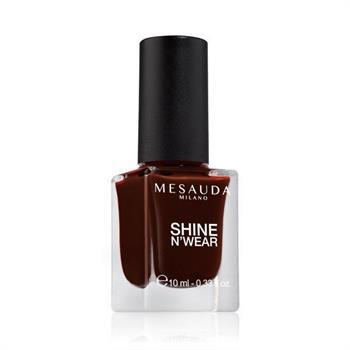 Mesauda Shine N`Wear Βερνίκι Νυχιών Rouge Noir 10ml