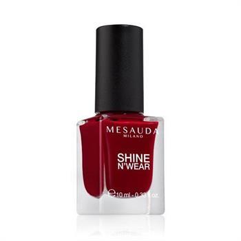 Mesauda Shine N`Wear Βερνίκι Νυχιών Rouge Laque 10ml