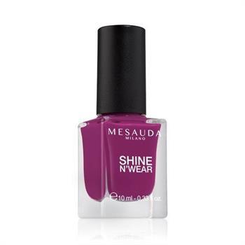 Mesauda Shine N`Wear Βερνίκι Νυχιών Times Square 10ml