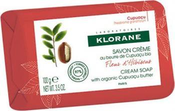 Klorane Fleur D` Hibiscus Cream Soap Σαπούνι με Άνθος Ιβίσκου 100gr