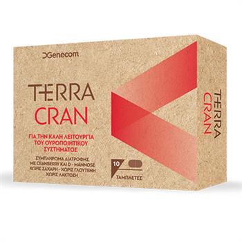 Genecom Terra Cran Συμπλήρωμα Διατροφής κατά των Ουρολοιμώξεων, 30 ταμπλέτες