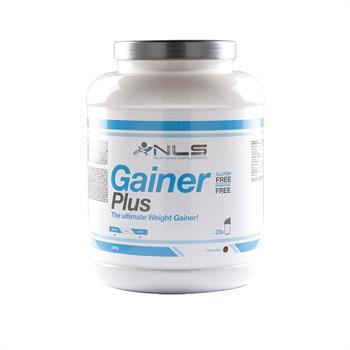 NLS Gainer Plus Φόρμουλα αύξησης μυϊκής μάζας, Vanilla 2300g