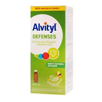 Alvityl Defences Echinacea, Propolis, Vitamins C & D 150ml