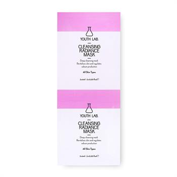 Youth Lab. Cleansing Radiance Mask 2x6 ml