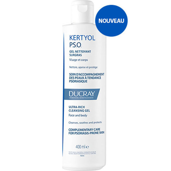Ducray Kertyol PSO Gel Nettoyant Surgras 400 ml