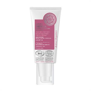 Natura Siberica Organic Certified Night Recovery Face Cream 50 ml