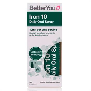 BetterYou Iron Oral Daily Spray 10 mg 25 ml