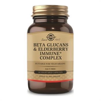 Solgar Beta Glucans & Elderberry Immune Complex 60 veg.caps