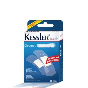 Kessler Discreet- Διάφανα Αυτοκόλλητα - 20strips