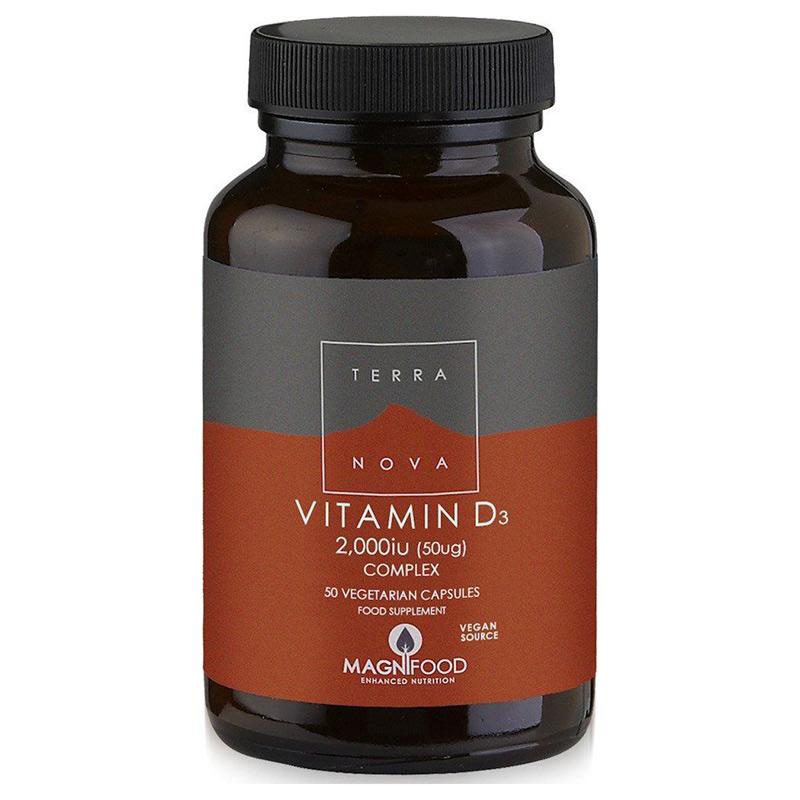 TerraNova Vitamin D3 2000iu Complex 50 tabs