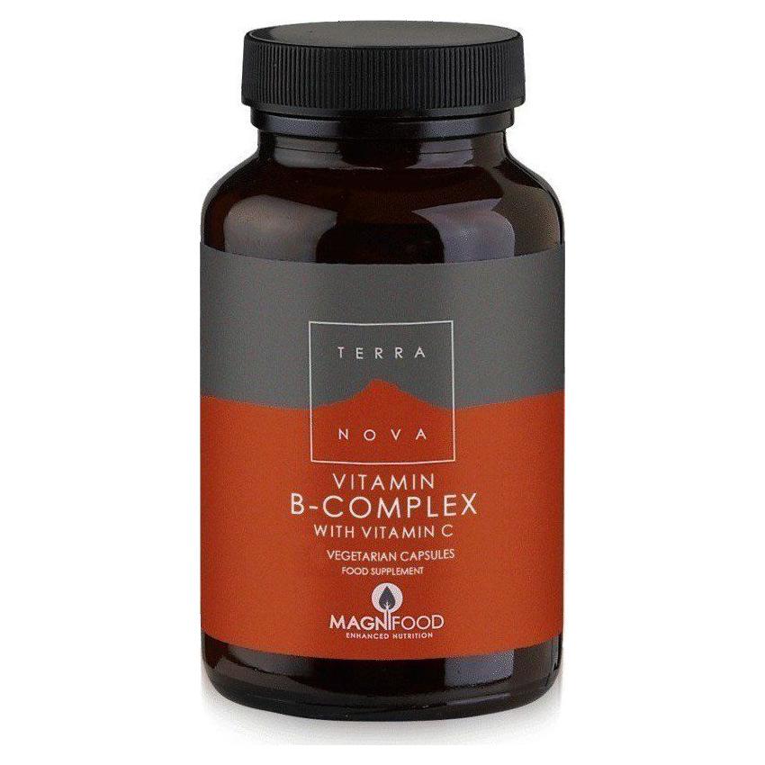 TerraNova B-Complex with Vitamin C 100 caps