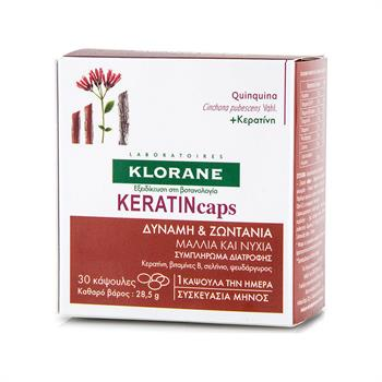 Klorane Quinine KERATINcaps 30 caps