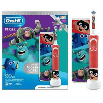 Oral-B Kids Special Edition Pixar Ηλεκτρική Οδοντόβουρτσα  & Travel Case