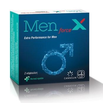 Cannsun Men Force X για Τόνωση & Αύξηση της Λίμπιντο