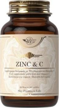 Sky Premium Life Zinc plus Vitamin C