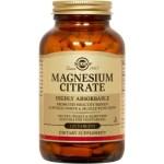 Solgar Citrate Magnesium 200mg 120tabs